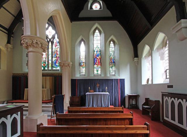 All Saints, Upper Norwood - South chapel
