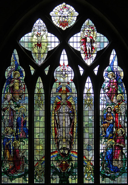 All Saints, Upper Norwood - Stained glass window