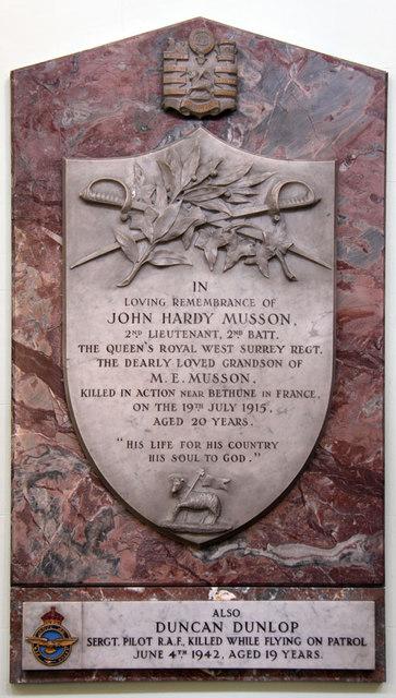 All Saints, Upper Norwood - War Memorial