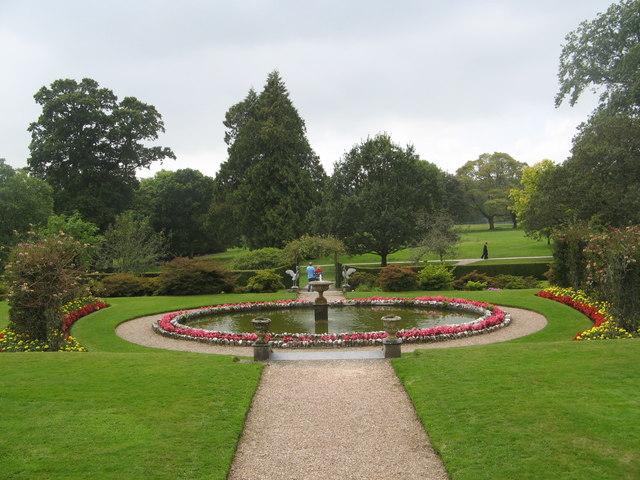 Victorian Garden at Arlington Court