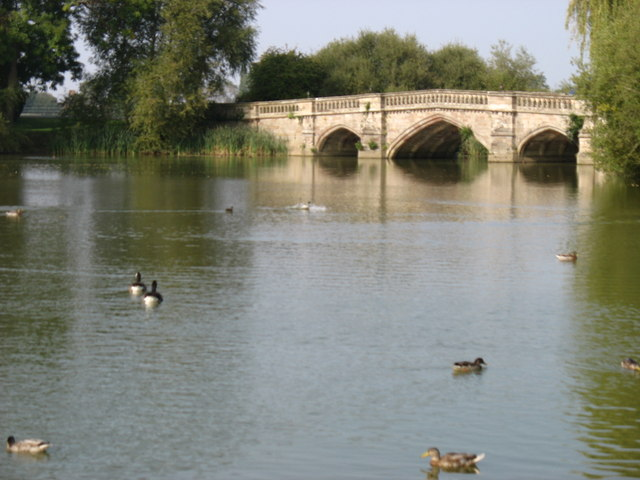 The bridge in Walton Park
