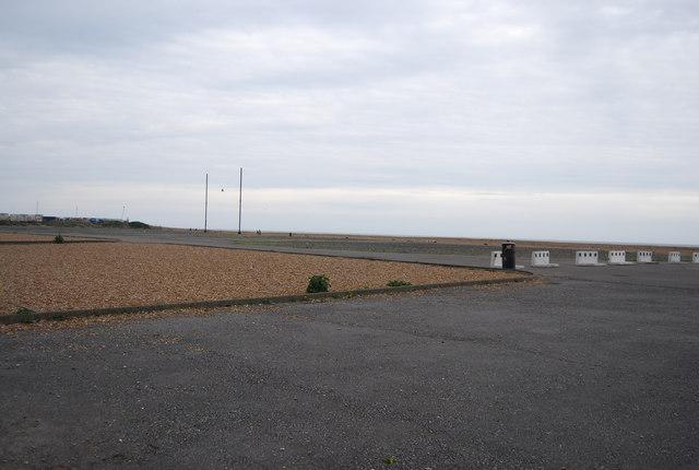 Seafront car park