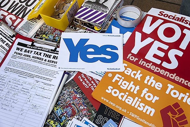 Socialist Worker campaign stall