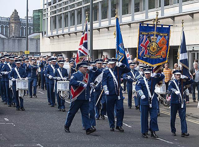 Orange Order March, Edinburgh