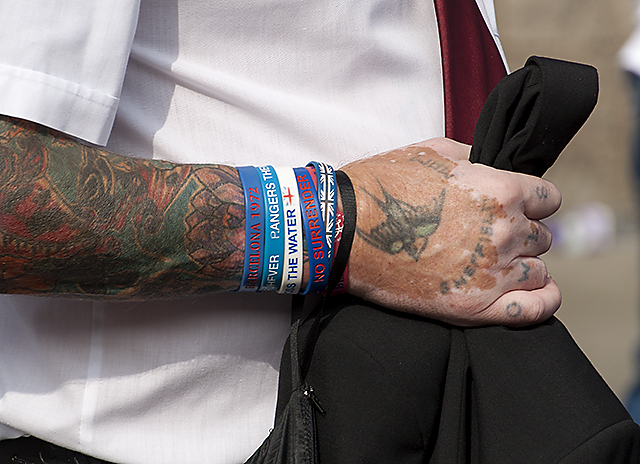 Tattoos and wristbands