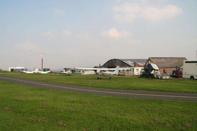 Crosland Moor Airfield: fit for a Queen