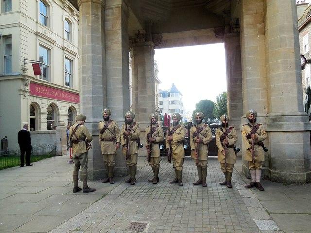 Sikh Regiment display