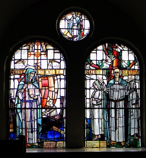 Lismore Parish Church - the windows (1)