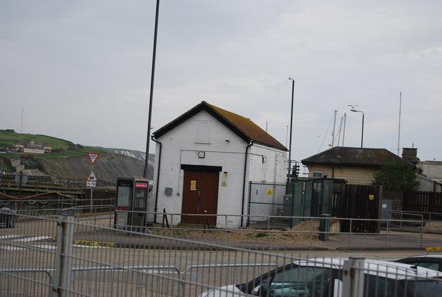 Small building, Folkestone Harbour