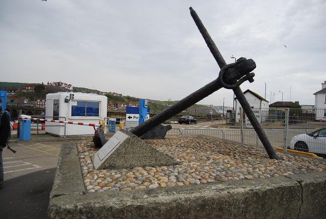 Anchor, Folkestone Harbour