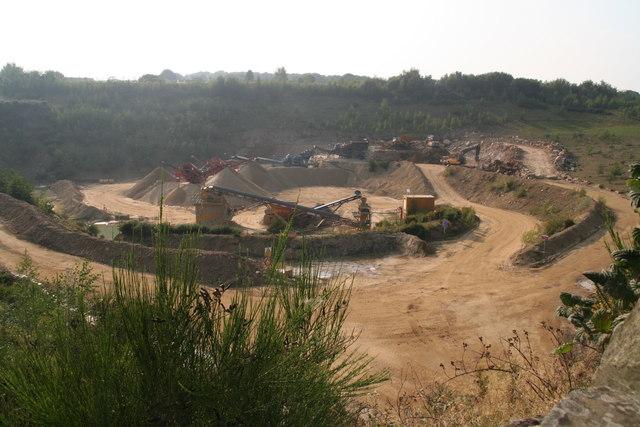 Sand Quarry off Sands House Lane