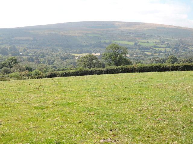 Towards Cosdon Hill