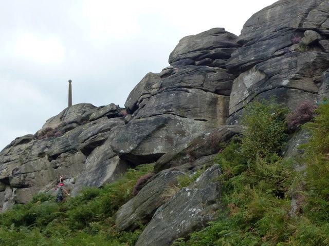 Birchen Edge and Nelson's Monument