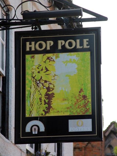 Hop Pole sign