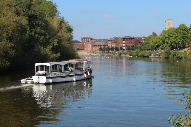 Boat on River Severn