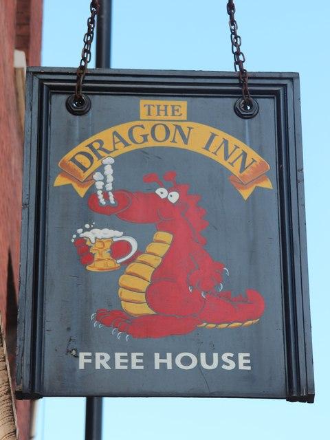 The Dragon Inn sign