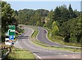 SX2960 : A38 crossing the Seaton valley by Derek Harper