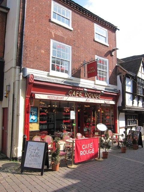 Café Rouge, Worcester