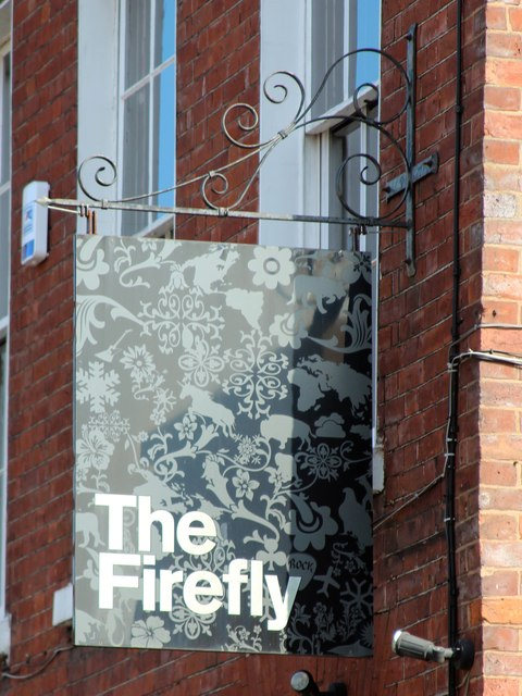 The Firefly sign
