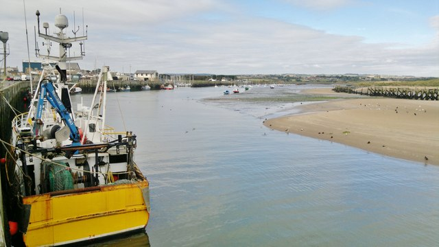 Amble Harbour and River Coquet