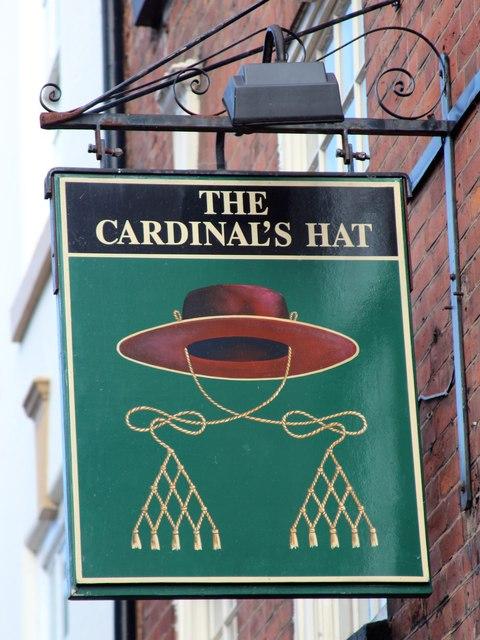 The Cardinal's Hat sign