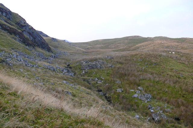 Llethrau Banc y Merddwr / Slopes of Banc y Merddwr