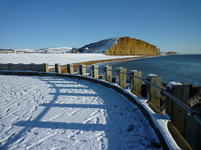 East Pier, East Beach and East Cliff, West Bay