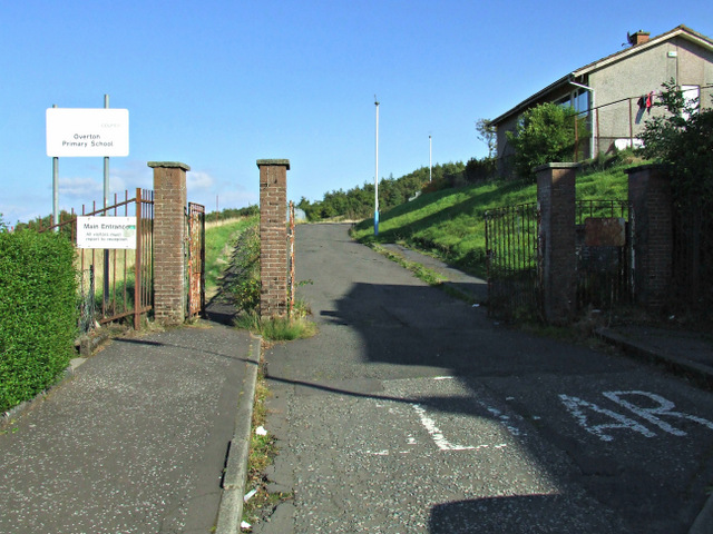 Site of Ging's Glen Primary School