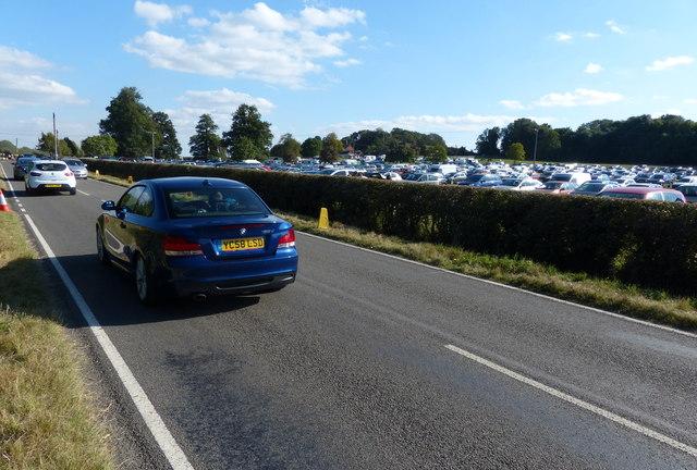 Car park along Croft Road
