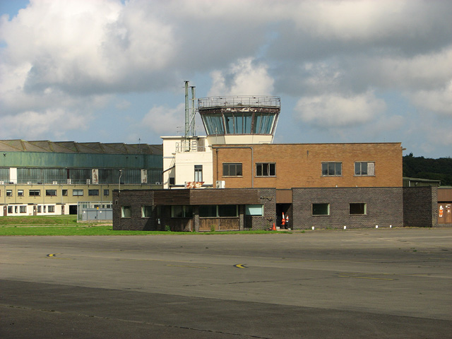 The Watch office seen from across the taxiway