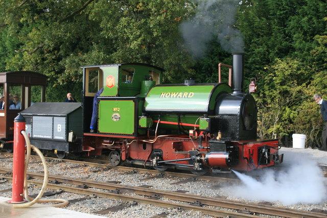 Statfold Barn Railway - Howard