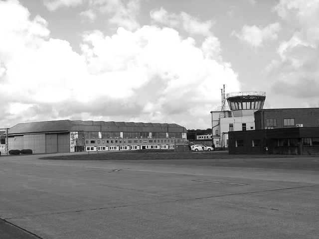 The Watch office and hangar 1
