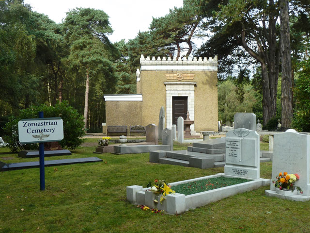 Zoroastrian section, Brookwood Cemetery