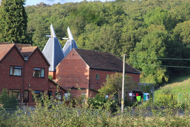 Oast House at Storridge farm, Batchcombe Lane, Storridge