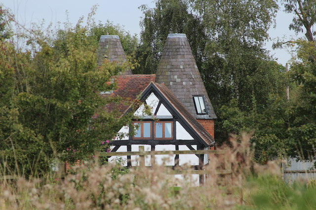 Oast House at The Grit Farm House, Grit Lane, Malvern