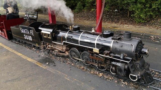South Shields Lakeshore Railroad, South Marine Park, South Shields