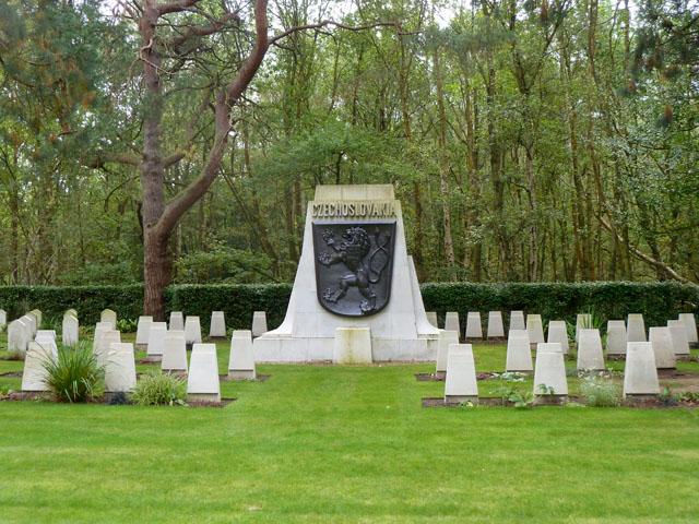 Czechoslovakian section, Brookwood Military Cemetery