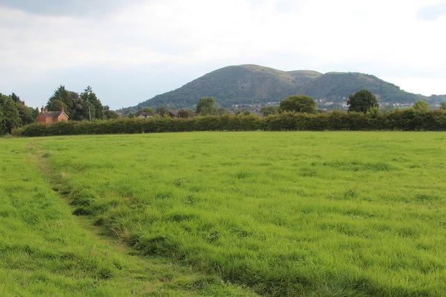 Footpath near Grit Farm