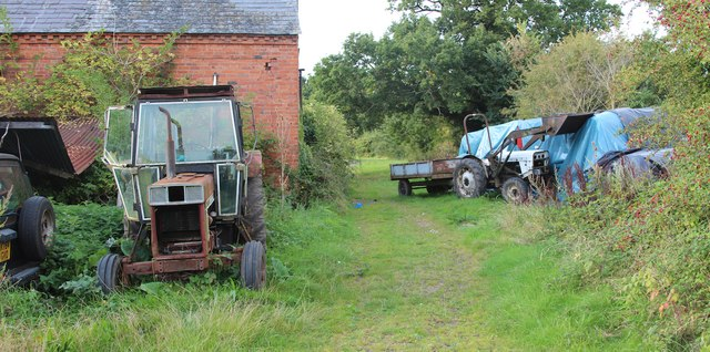 Tractors at Moat Court