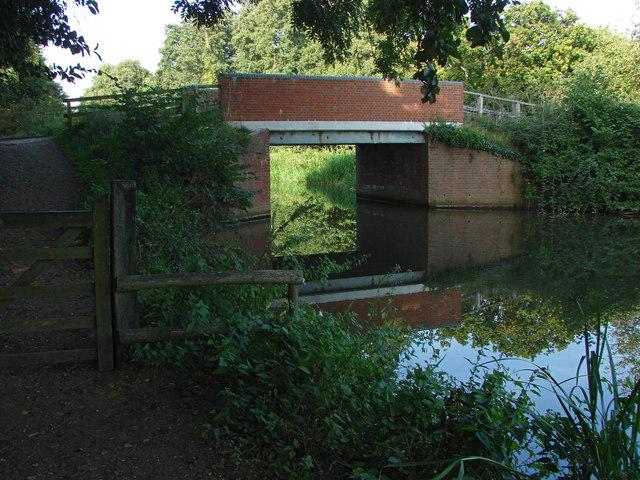 River Wey Navigation bridge