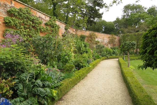 Path in the walled garden at Buscot Park