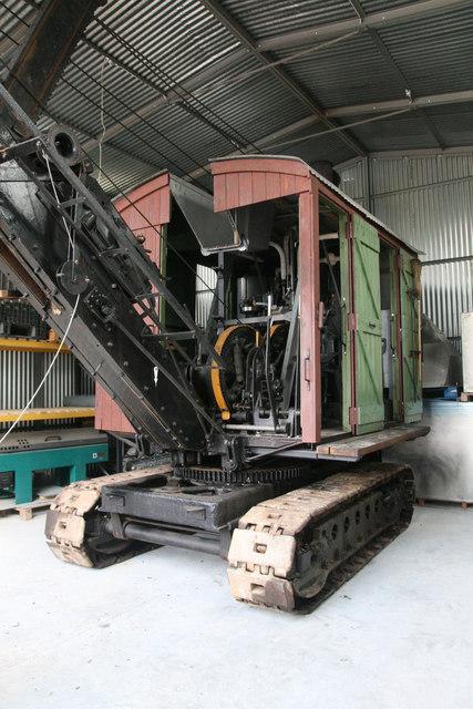 Statfold Barn Railway - steam navvy