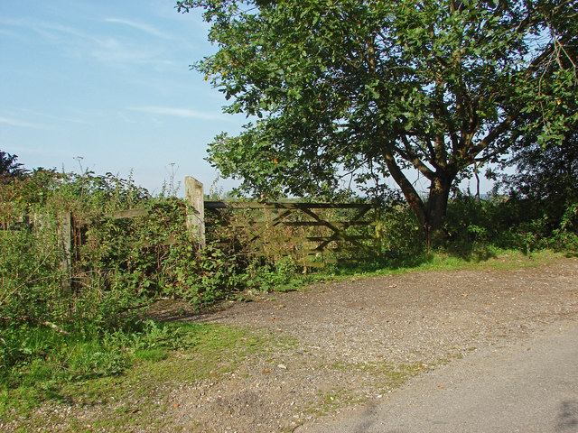 Gateway to disused fields