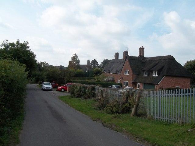 Thatch Dwellings at Yeldersley