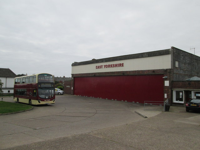 East Yorkshire Bus Depot Cliff Road