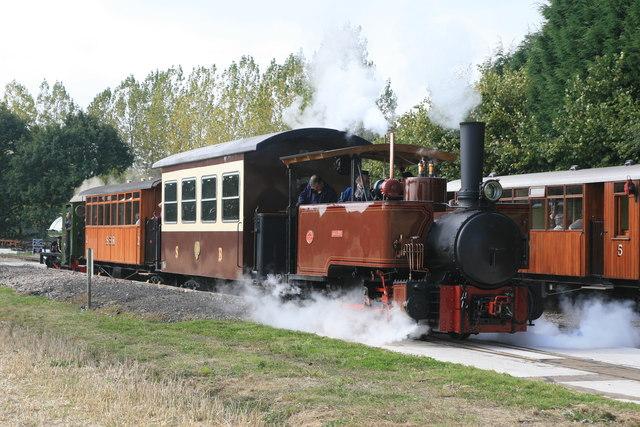 Statfold Barn Railway - sweet