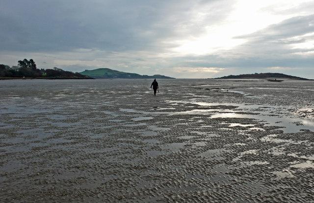 Walking on Rough Firth