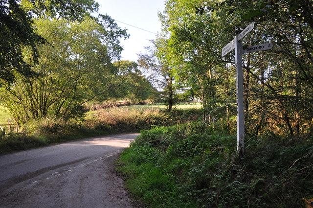 Mid Devon : Woodburn Water Cross