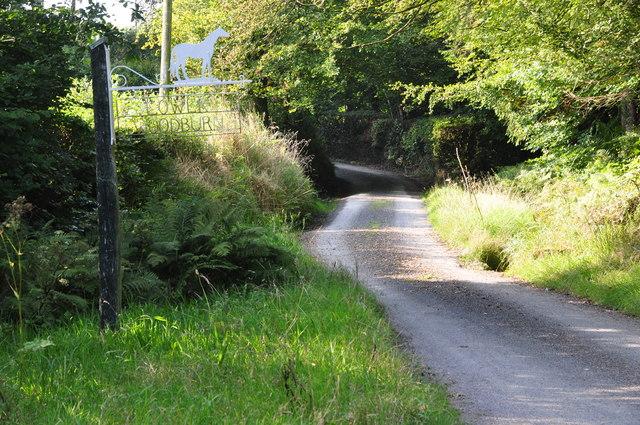 North Devon : Farm Track