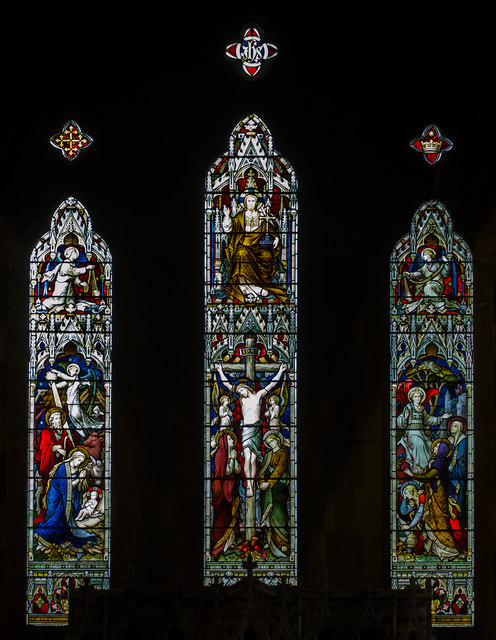 East Window, Christchurch Blacklands, Hastings